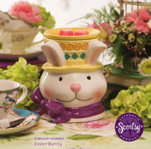 Easter-Bunny-Scentsy-Warmer-February-2015-Warmer-of-the-Month-300x296