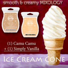 Ice Cream Cone Scentsy Recipe