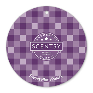sweet plum pastry scent circle