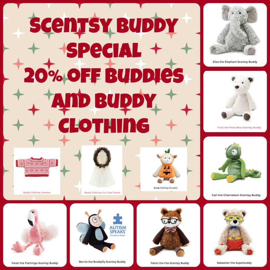 Scentsy buddy for kids