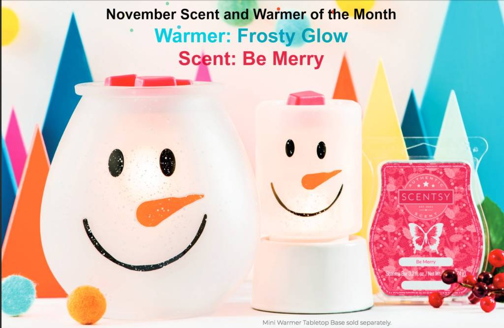 Nov Scent and Warmer of the Month