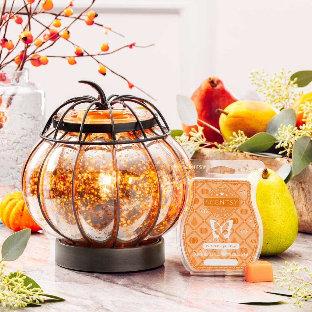 Scentsy October warmer and scent of the month
