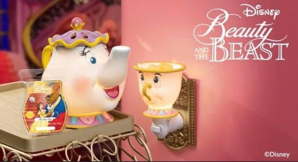 Scentsy Beauty and the Beast Disney Products